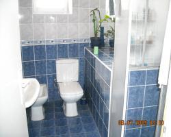 Na slici jedno od dva kupatila.
